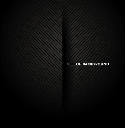 Chrome black background. Vector