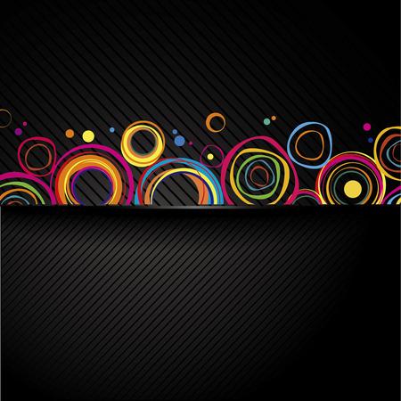 multicolored: Universal background.Glow multicolored line Illustration