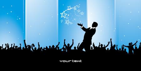 cheer leader: Cartel con empresarios y pol�ticos de �xito