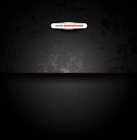corduroy: Chrome black background