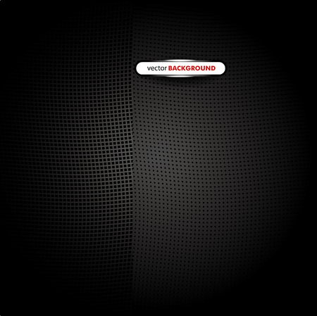 Chrome black background Vector