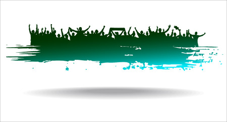 Advertising banner sports championships and concerts Vector