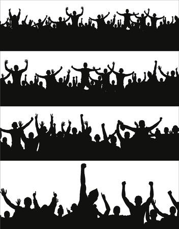 bannière football: Set bannières pour événements sportifs et concerts