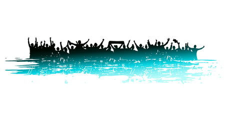 sporting: Banner for sporting events and concert Illustration