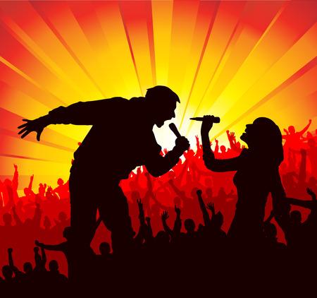 cram: Poster for concerts Illustration