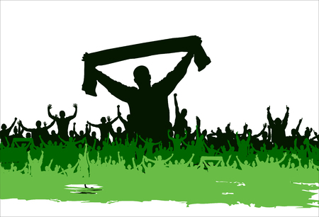 Banner for sporting events and concert Illustration