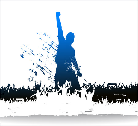 Banner for sporting events and concerts