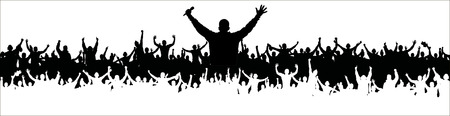 oration: Realistic Background for music party and concerts.