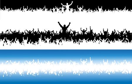 Cartel publicitario para campeonatos deportivos y conciertos de música