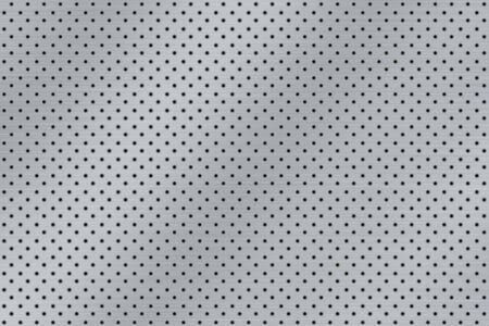brushed metal - dotted