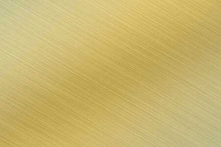 brushed metal - golden Stock Photo