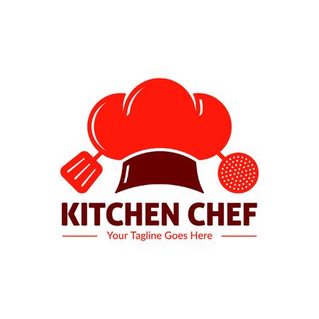 Kitchen chef food logo