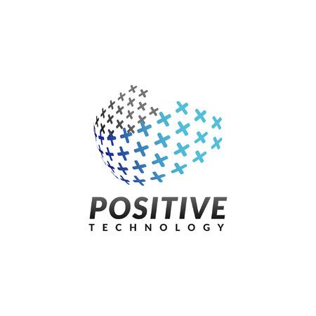 Technology logo, Tech logo template Иллюстрация