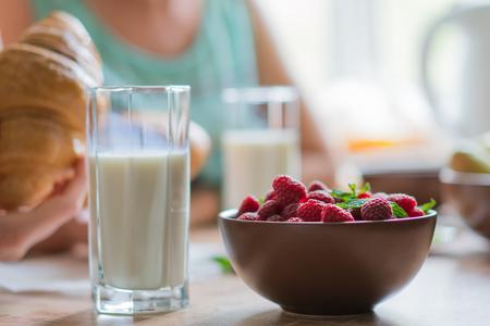 A healthy breakfast.