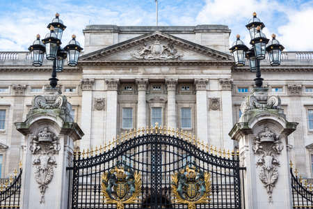 The Buckingham Palace Gate. London, UK.