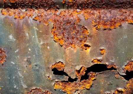 rusts: Zinc rust Stock Photo