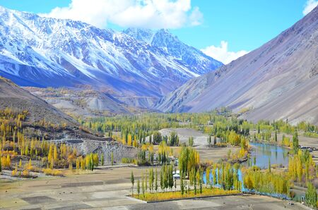 s curve: This is beautiful autumn in pakistan