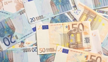 Euro as investment to the stock market Stock Photo - 17243394