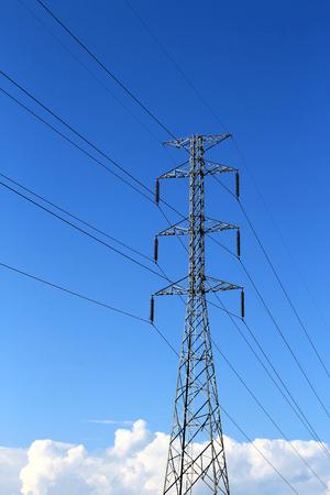 kilowatt: High voltage with blue sky