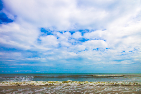 Beautiful natural seascape background