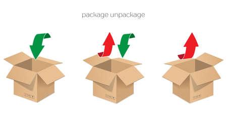 stockpile: Storage boxes open