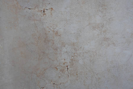 Marble texture is gray-beige with cracks, spots.