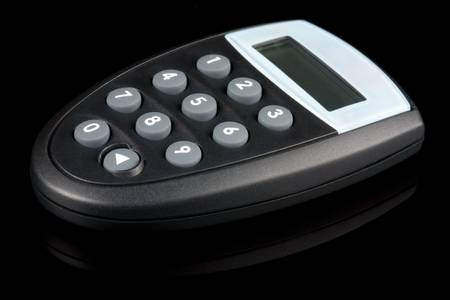 ecomerce: small electronic password generator used for banking and ecomerce security