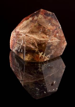 irradiation: Smokey quartz is a brown to black variety of quartz caused through the natural irradiation of aluminium containing rock crystal