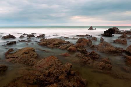 seashore in Playas, Ecuador. Esmeralda province Stock Photo - 9112377