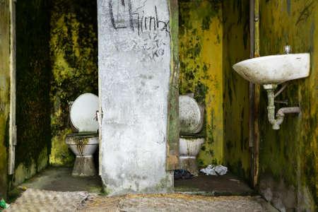 privy: infect restroom, ladies and gentlemans