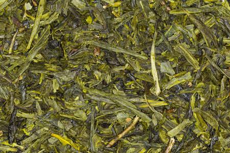 sencha: green tea japan sencha , high quality studio shot Stock Photo