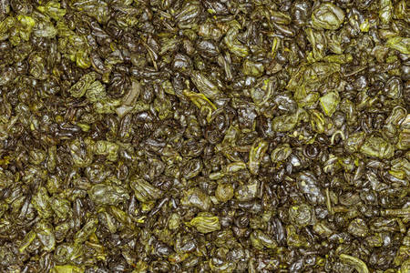 gunpowder: gunpowder green tea , high quality studio shot