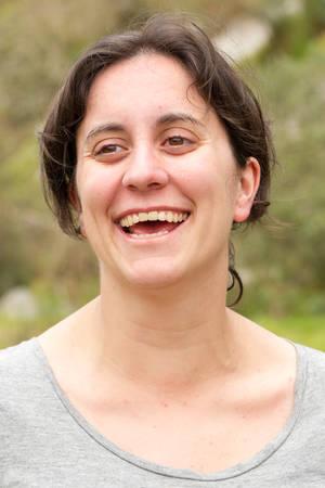 mujer fea: No retocada Sin maquillaje directamente de la cámara Retrato Natural