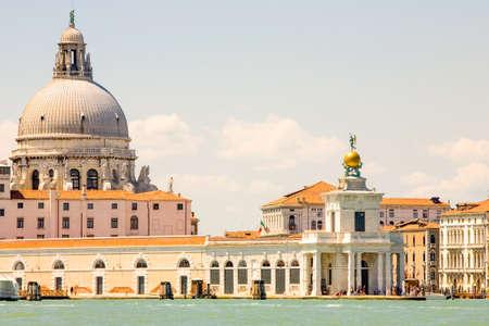 tripod mounted: View From Island San Giorgio Maggiore Medium Telephoto Lens On Tripod Mounted Camera
