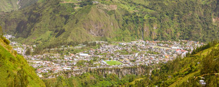 tungurahua: Banos De Agua Santa Is A Canton Of Ecuador Located In The Tungurahua Province Very Popular Touristic Place