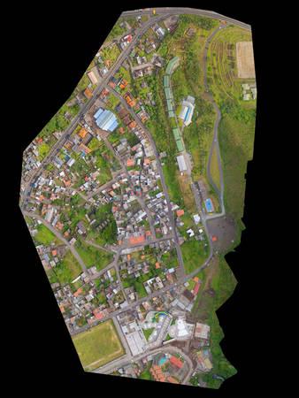 orthorectified aerial image