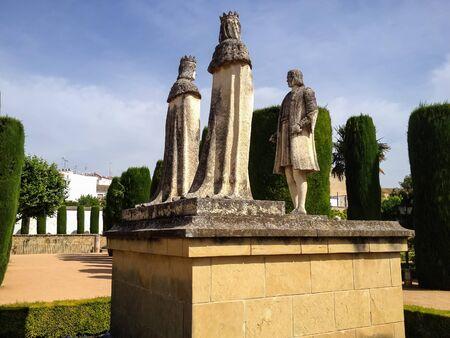 alcazar: Alcazar de los Reyes Cristianos in Cordoba, Spain