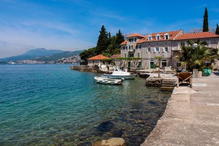 montenegro: View at Rose, Montenegro Stock Photo