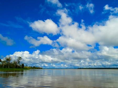 río amazonas: R�o Amazonas Foto de archivo