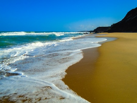 View at Pipa Beach in Brazil Stock Photo
