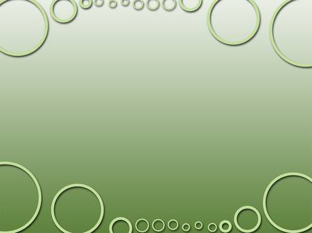 green circle three dee abstract background texture Stock Photo - 19350613