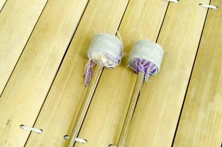 resonator: thai alto xylophone asia music instrument Stock Photo