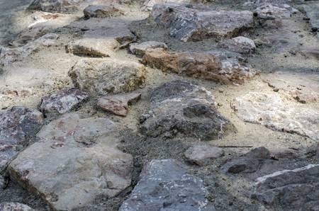 oxidation: rock texture