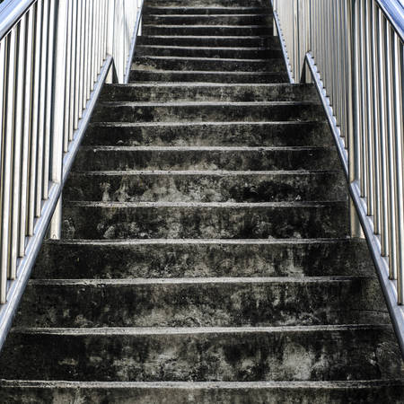 Dark stair in some day photo