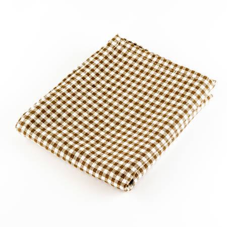 brown kitchen towel on a white  photo