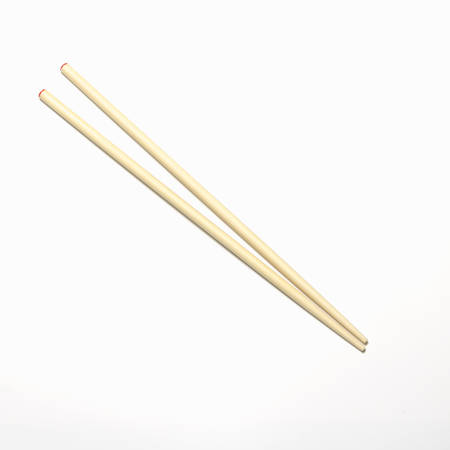 chopsticks on a white background Imagens