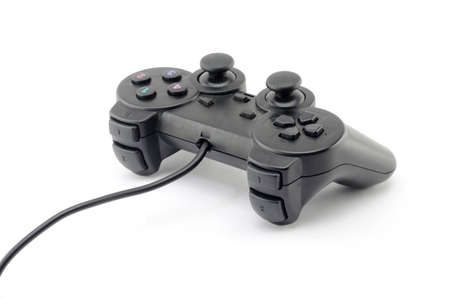 joy pad: game controller isolated on white background