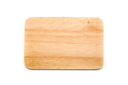 cutting board isolated on white background Stock Photo