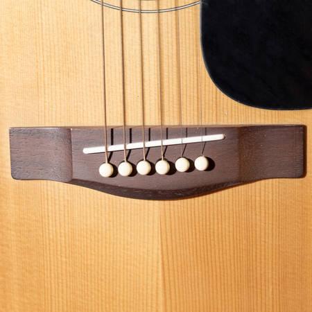 boehm: still life close up part of guitar Stock Photo