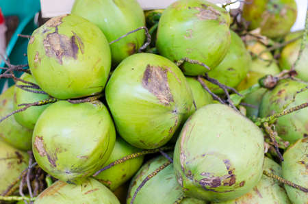 Fresh Topical coconuts
